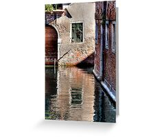 The Waterside Greeting Card