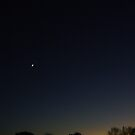 evening sky 1 by Tee Mezz