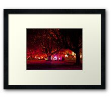 Panic In The Streets Framed Print