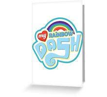 My Little Pony - Rainbow Dash Greeting Card