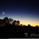 evening sky 7 by Tee Mezz