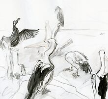 Pelican's Convention by WoolleyWorld