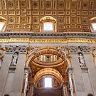 St Peter's Basilica. The Vatican, Vatican City by Melissa Fiene
