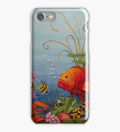 Great Barrier Reef Qld Australia iPhone Case/Skin
