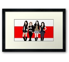 The Pretty Little Liars Framed Print
