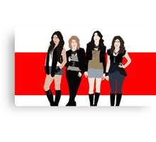 The Pretty Little Liars Canvas Print