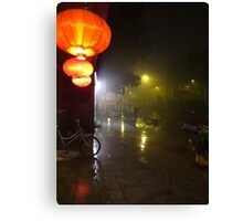 Beijing Streetscape by Lily Canvas Print