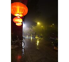 Beijing Streetscape by Lily Photographic Print