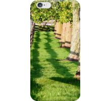 Fence and Oaks iPhone Case/Skin