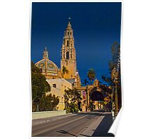 The Museum of Man, San Diego, California Poster