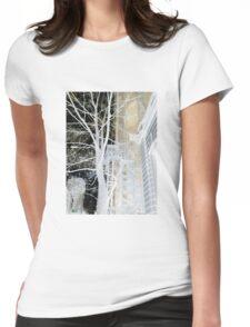 Negative Matter Womens Fitted T-Shirt