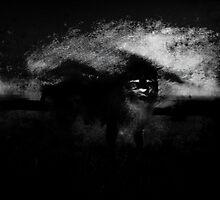 Penunmbra de oscuro rostro como leon negro by Alexander Knuplez