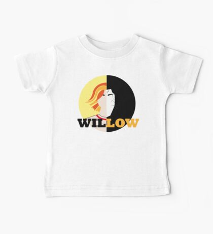 The Many Faces Of Willow Baby Tee