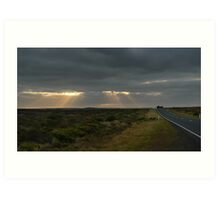Dawn over the Great Ocean Road Art Print