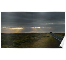 Dawn over the Great Ocean Road Poster