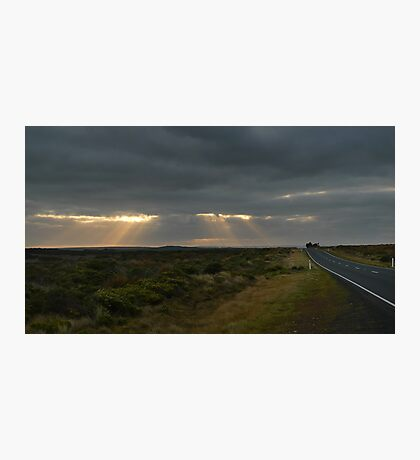 Dawn over the Great Ocean Road Photographic Print