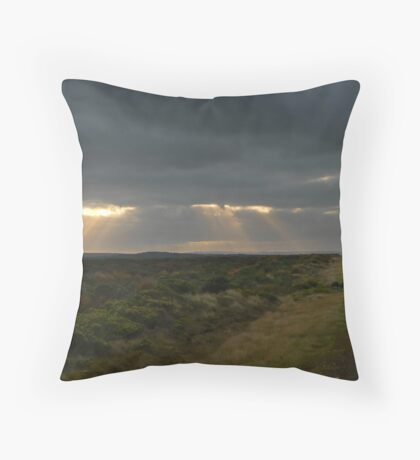 Dawn over the Great Ocean Road Throw Pillow