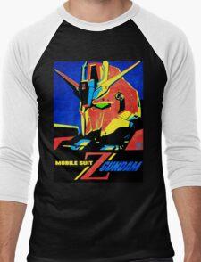 Zeta Gundam Men's Baseball ¾ T-Shirt