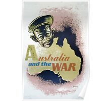WPA United States Government Work Project Administration Poster 0088 Australia and the War Poster