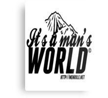 #IAMW Logo Metal Print