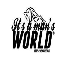 #IAMW Logo Photographic Print