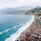 Amalfi Coast, Southern Italy by Melissa Fiene