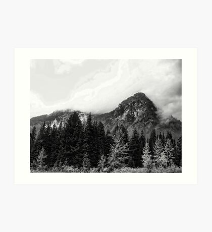 Crossing Snoqualmie Pass Art Print