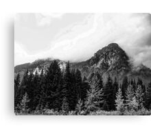 Crossing Snoqualmie Pass Canvas Print