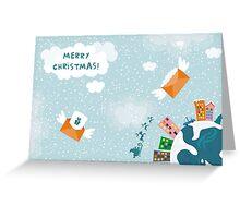 merry xmas 2 Greeting Card