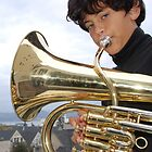 Mason Tuba on the San Francisco Bay by Diane Philips