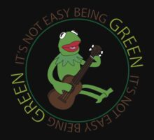 It's Not Easy Being Green Kids Tee