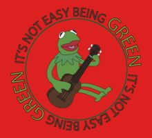 It's Not Easy Being Green Baby Tee