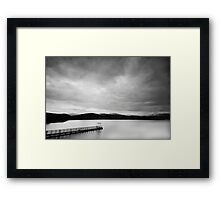 Into the big wide open Framed Print