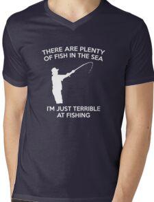 I'm Just Terrible At Fishing Mens V-Neck T-Shirt