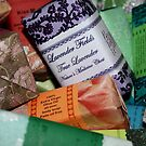 A basket of colourful soaps by Fizzgig7