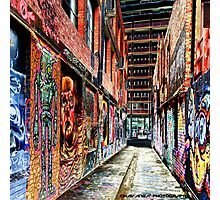 Melbourne Street Art - Downtown Alley Photographic Print