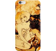 Girl in the Jewelry Box iPhone Case/Skin