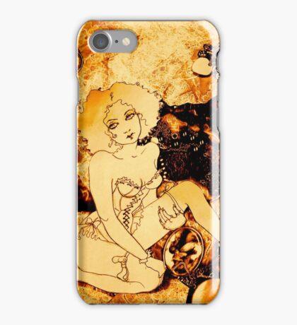 Girl in the Jewelry Box iPhone Case/Skin