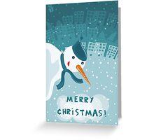 merry xmas 3 Greeting Card
