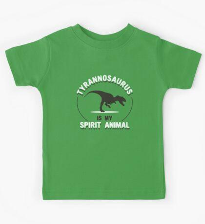 Tyrannosaurus Is My Spirit Animal Kids Tee