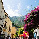 Positano, Southern Italy by Melissa Fiene