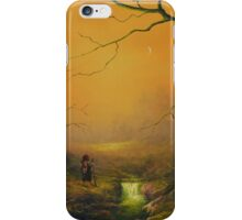 Three Hobbits A Fox And Supper iPhone Case/Skin