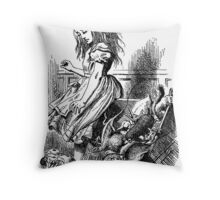 Why are you do down, Alice? Throw Pillow