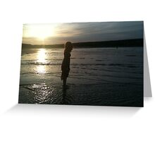 Beach Doll - Anglesea, Melbourne Greeting Card