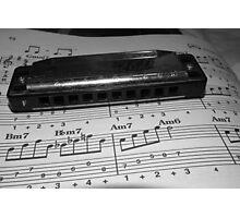 Harmonic Harmonica Photographic Print
