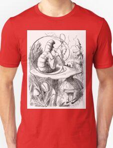 Cannabis and magic mushrooms in wonderland T-Shirt