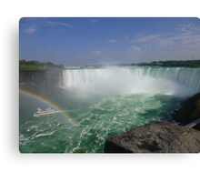 Maid By The Falls Canvas Print