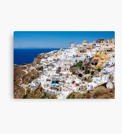 Santorini, Greek Islands Canvas Print