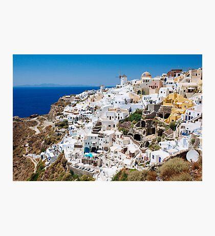 Santorini, Greek Islands Photographic Print