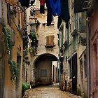 Street in Piran by rdis B.